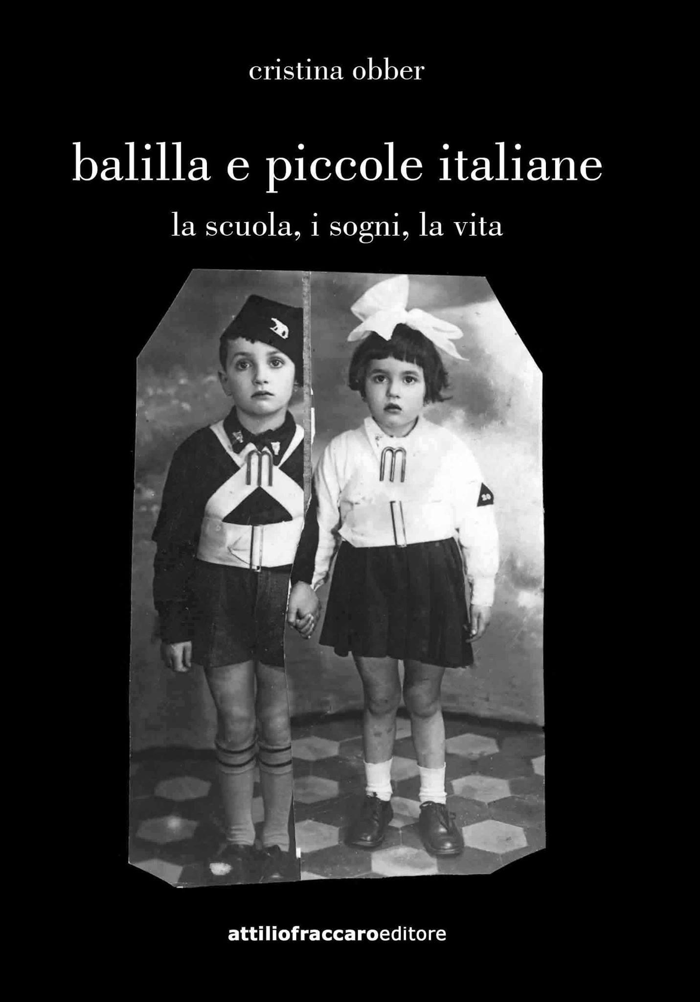 Libro Balilla e piccole italiane